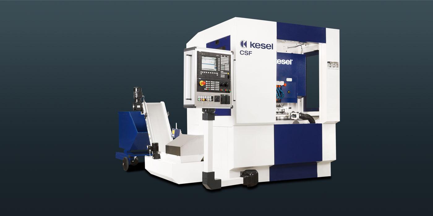 Kesel Cross Serrated Flange Milling Machine Csf|machines